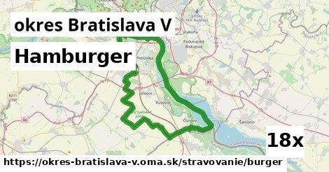 ilustračný obrázok k Hamburger, okres Bratislava V