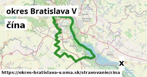 ilustračný obrázok k čína, okres Bratislava V