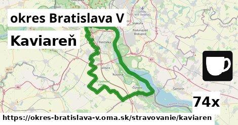 ilustračný obrázok k Kaviareň, okres Bratislava V