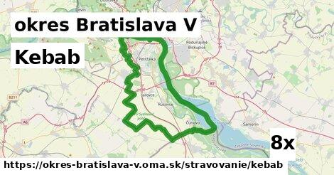 ilustračný obrázok k Kebab, okres Bratislava V