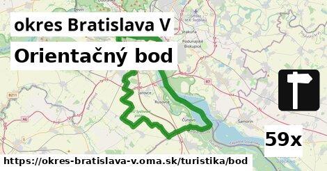 ilustračný obrázok k Orientačný bod, okres Bratislava V