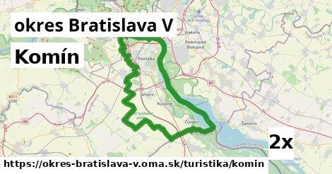ilustračný obrázok k Komín, okres Bratislava V