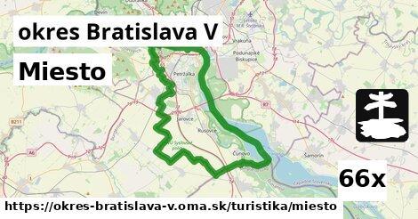 miesto v okres Bratislava V
