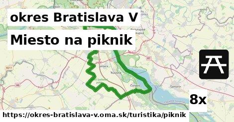 ilustračný obrázok k Miesto na piknik, okres Bratislava V