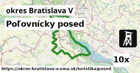 ilustračný obrázok k Poľovnícky posed, okres Bratislava V