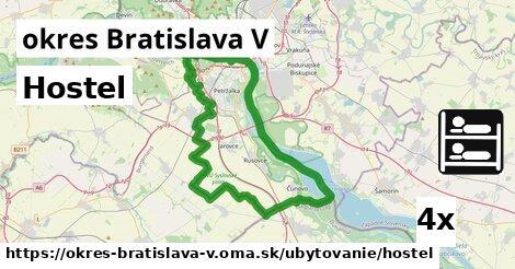 ilustračný obrázok k Hostel, okres Bratislava V