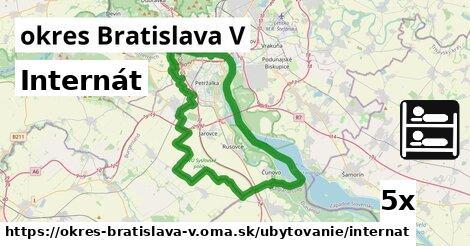 ilustračný obrázok k Internát, okres Bratislava V