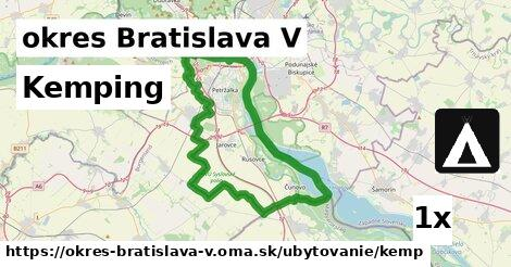 ilustračný obrázok k Kemping, okres Bratislava V