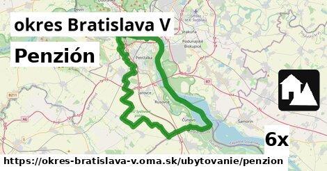 penzión v okres Bratislava V
