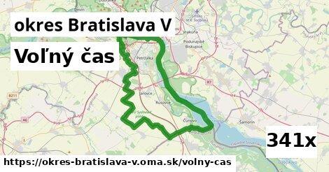 voľný čas v okres Bratislava V