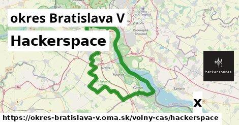 ilustračný obrázok k Hackerspace, okres Bratislava V