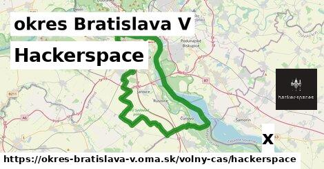 hackerspace v okres Bratislava V