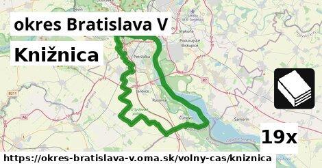 knižnica v okres Bratislava V