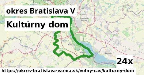 ilustračný obrázok k Kultúrny dom, okres Bratislava V
