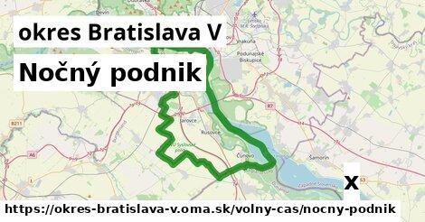 ilustračný obrázok k Nočný podnik, okres Bratislava V