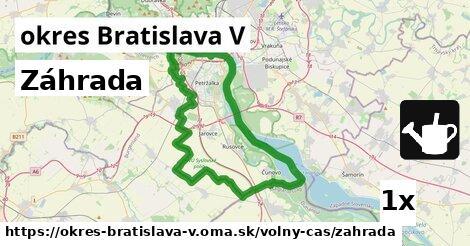 ilustračný obrázok k Záhrada, okres Bratislava V
