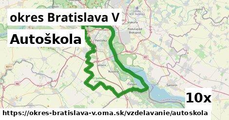 ilustračný obrázok k Autoškola, okres Bratislava V