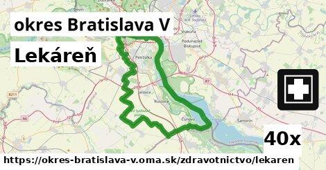 ilustračný obrázok k Lekáreň, okres Bratislava V