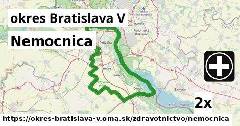 ilustračný obrázok k Nemocnica, okres Bratislava V