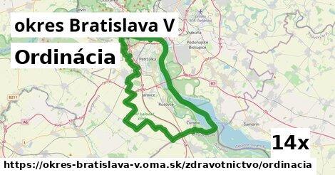 ilustračný obrázok k Ordinácia, okres Bratislava V