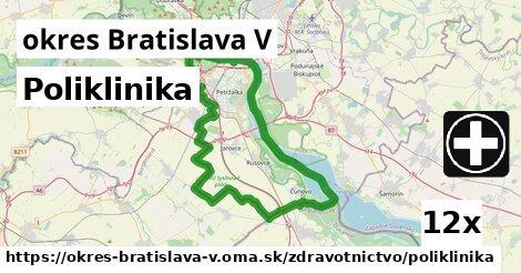 ilustračný obrázok k Poliklinika, okres Bratislava V
