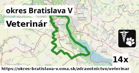 ilustračný obrázok k Veterinár, okres Bratislava V