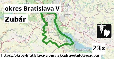 ilustračný obrázok k Zubár, okres Bratislava V