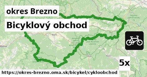 Bicyklový obchod, okres Brezno