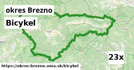 bicykel v okres Brezno