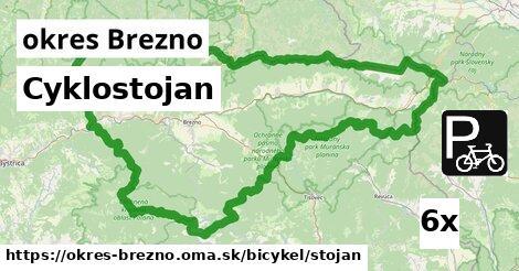 ilustračný obrázok k Cyklostojan, okres Brezno