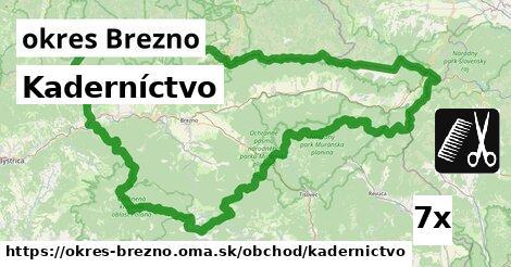 Kaderníctvo, okres Brezno