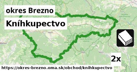 ilustračný obrázok k Kníhkupectvo, okres Brezno