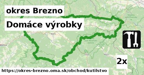 ilustračný obrázok k Domáce výrobky, okres Brezno