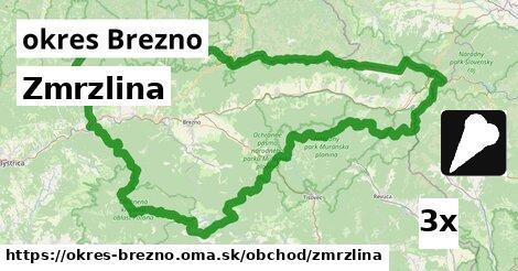 ilustračný obrázok k Zmrzlina, okres Brezno