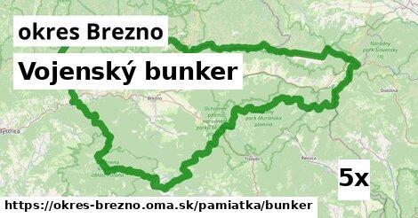 Vojenský bunker, okres Brezno