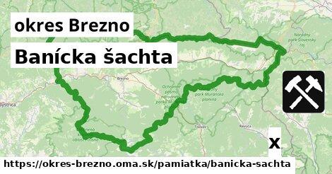 ilustračný obrázok k Banícka šachta, okres Brezno