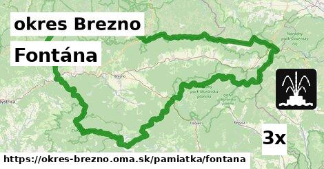 ilustračný obrázok k Fontána, okres Brezno