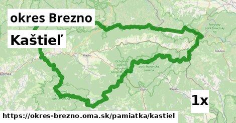 ilustračný obrázok k Kaštieľ, okres Brezno