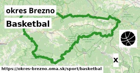 ilustračný obrázok k Basketbal, okres Brezno