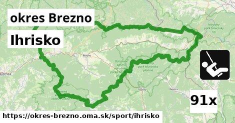 ilustračný obrázok k Ihrisko, okres Brezno
