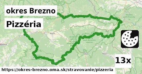 ilustračný obrázok k Pizzéria, okres Brezno