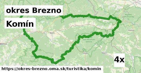 ilustračný obrázok k Komín, okres Brezno