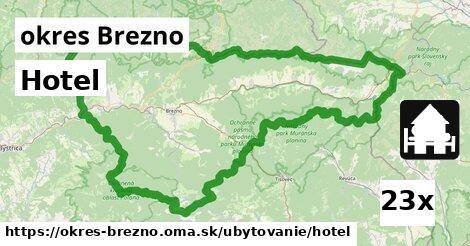 ilustračný obrázok k Hotel, okres Brezno
