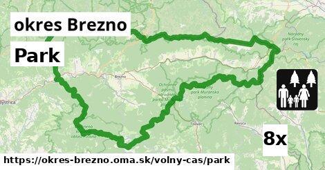 ilustračný obrázok k Park, okres Brezno