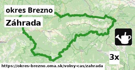 ilustračný obrázok k Záhrada, okres Brezno