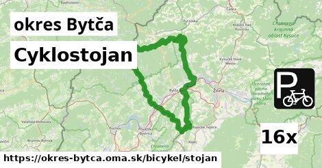 Cyklostojan, okres Bytča
