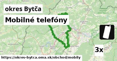 Mobilné telefóny, okres Bytča