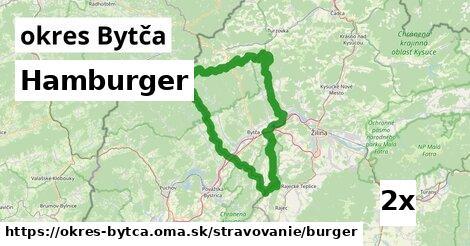 Hamburger, okres Bytča