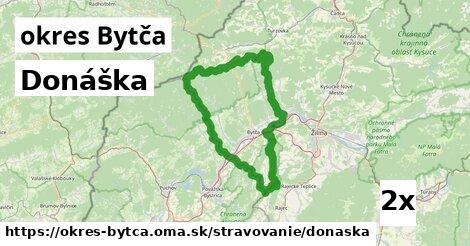 Donáška, okres Bytča