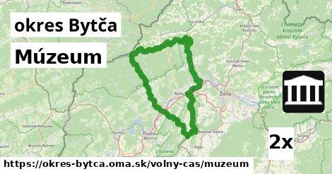 Múzeum, okres Bytča